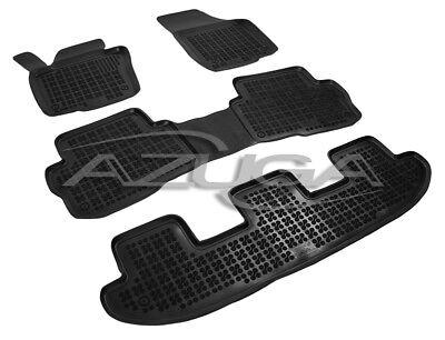 Generation 5-Sitzer 1996-2010 Gummimatten Gummi-Fußmatten für VW Sharan I
