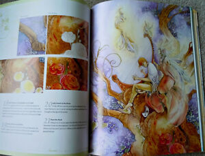 Dreamscapes: Magical Angel, Faery & Mermaid Worlds In Watercolor Kitchener / Waterloo Kitchener Area image 9