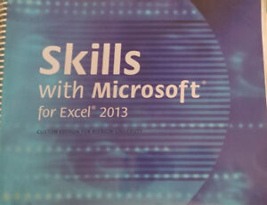 Skills with Microsoft for Excel 2013