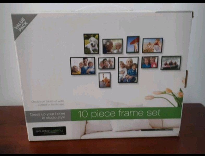 10 Piece Frame Set Other Antiques Art Collectables Gumtree