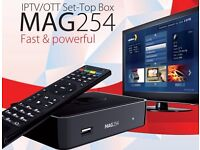*PRICE DROP*MAG IPTV BOX+12 MTHS ALL CHANNELS/£165 BEST IPTV IN THE WORLD/OPENBOX/RuYa/PREMIUM/WORLD