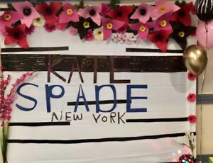 Kate spade themed photo wall (backdrop) $135 for rent