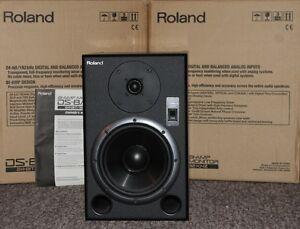 ROLAND DS-8 BI-AMP STUDIO MONITOR SPEAKERS