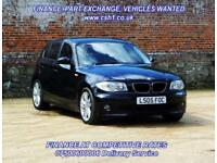2005 05 BMW 1 SERIES 2.0 120D SE 5D AUTO 161 BHP DIESEL