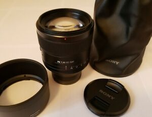 ❗❗❗ Mint Sony FE 85mm F/1.4 GM Prime Lens - SEL85F14GM ❗❗❗
