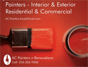 Painters - Interior & Exterior - Residential & Commercial - Low Cambridge Kitchener Area image 1
