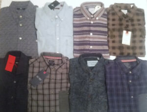 8 (Eight) Mens designer shirts Size Small All for $150