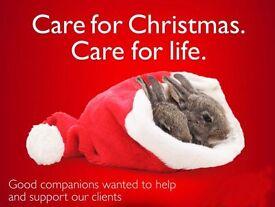 Part Time Job - Fleckney - Not Just for Christmas!