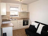 Studio flat to let in Stoke Newington N16, first floor, separate bedroom area