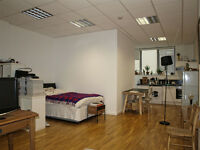 Live- work space - very large studio /flat to rent in Dalston E8, spacious property, high ceili