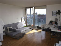 Spacious 2 bed flat with balcony to let - Shacklewell Lane E8, 3rd floor, floor to ceiling windows