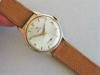 OMEGA  Cal 260  9ct GOLD  VINTAGE WRISTWATCH