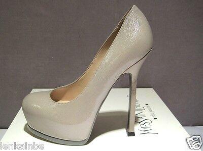 Kyпить YSL Yves Saint Laurent TribToo 105 Pumps Shoes Stone Beige 41 11 $795 на еВаy.соm