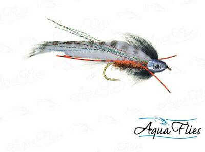Aqua Flies USA Greg Senyo EGG RAIDER Aqua Flies black orange