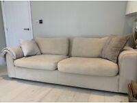 FREE Habitat cream sofa