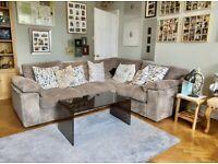 Corduroy Corner sofa
