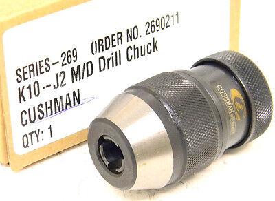 NEW CUSHMAN STANDARD KEYLESS DRILL CHUCK (2690211) K10-J2 M/D (0-3/8
