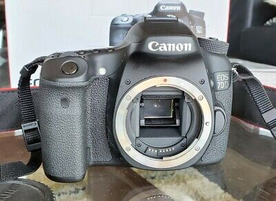 Canon EOS 70D Digital SLR Camera in Box - (Body Only) remote, macro lenses