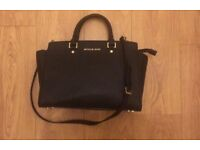 Michael Kors Selma medium black bag