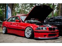 RARE BMW E36 COUPE SPOILER & OTHER GOODIES PARTS fog lights