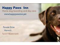 Happy Paws Inn home dog boarding and day care