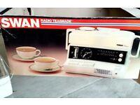 Teasmade. Model 870 with FM radio, 1979 Vintage never used