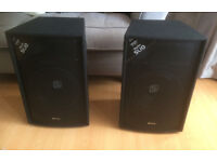 Skytec SL10 10 inch DJ/PA speakers