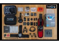Gopro Hero 4 Silver+Head Mount+Waterproof Case and More Accessories - Postage: £5.00