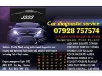Car Diagnostic Service Vehicles Health Check Warning Engine management light ABS ESP Airbag ECU etc
