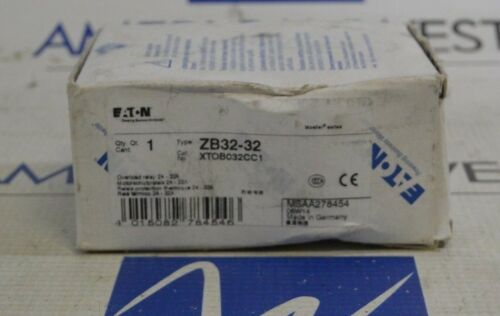 EATON ZB32-32 24-32 AMP ADJUSTABLE OVERLOAD - NEW