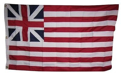 3x5 Embroidered Grand Union 600D 2ply Nylon Flag 3'x5' Military Grade Fabric