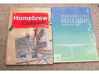 Homebrew Cookbook and Practical Antennas Books