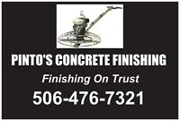 PINTO'S CONCRETE FINISHING