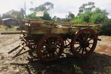 Working Antique Horse Drawn Wagon - Barnyard Bargain! Mid Murray Preview