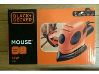 Black and Decker mouse 11000rpm 55W BRAND NEW