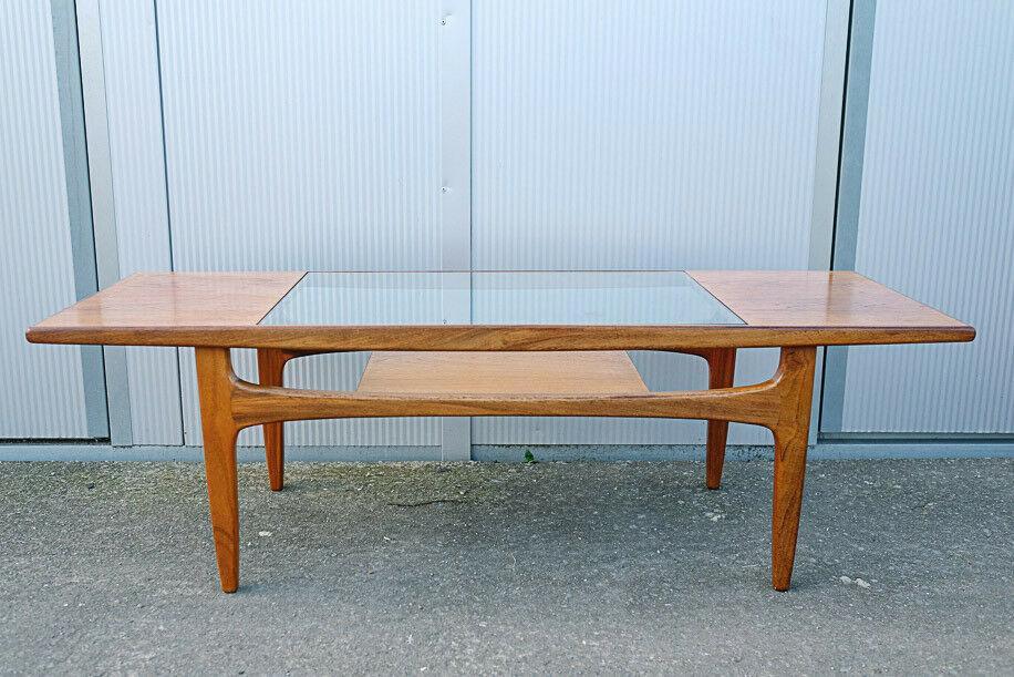 Vintage Retro Mid Century Teak G Plan Gplan Long John Coffee Table
