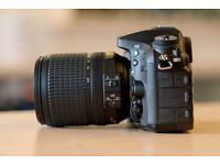 D7200 Camera, Shutter Count 34000