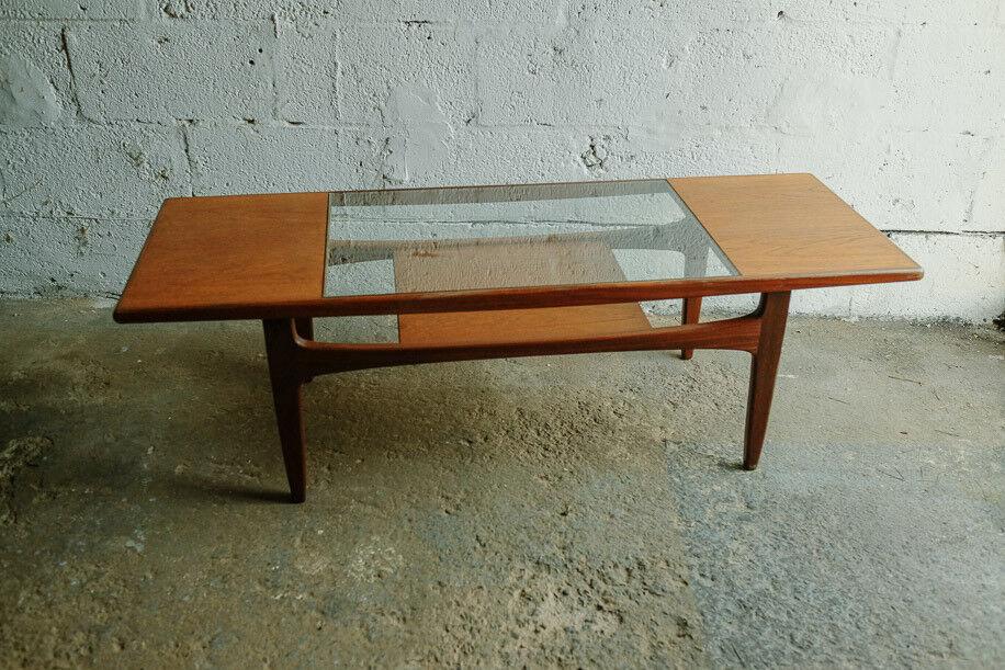 Vintage Retro Mid Century Teak G Plan Gplan Long John Coffee Table