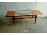 VINTAGE RETRO MID CENTURY TEAK G-PLAN GPLAN LONG JOHN COFFEE TABLE