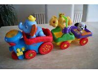 Fisher-Price Disney Baby Amazing Animals Sing-Along Choo-Choo train for sale