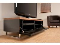£130 off!!! Techlink Panorama PM120 Walnut TV Stand. In MINT Condition. Bargain at £120!!