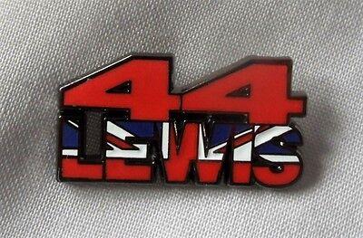 *NEW* Lewis Hamilton 44 enamel badge. Hammer Time, F1, Formula One, Silverstone.