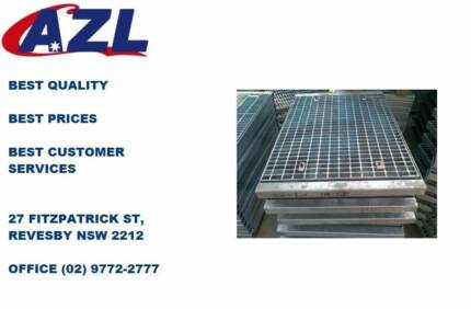 High quality Galvanised Grates and Trench on sale!