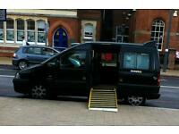 PEUGEOT E7 EXPERT BLACK CAB TAXI 12 MONTHS MOT