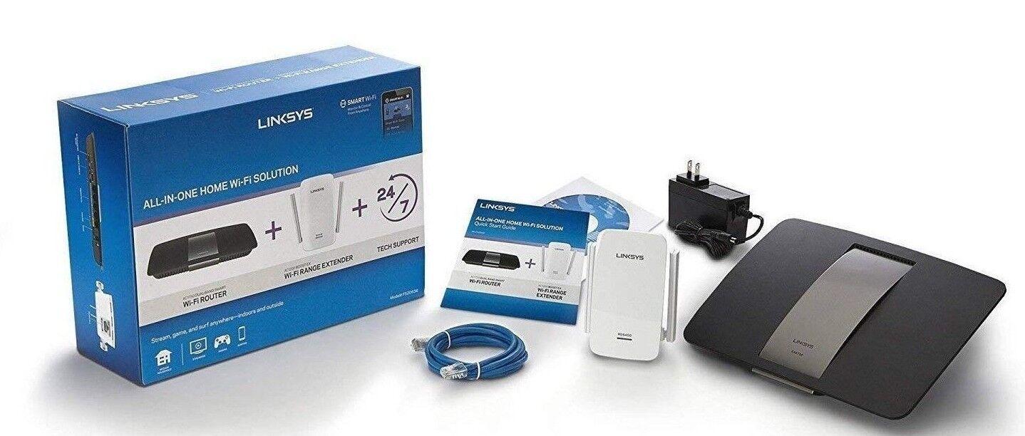 Linksys F5Z0636 AC1750 Dual-Band Smart Wi-Fi Router w/ Range