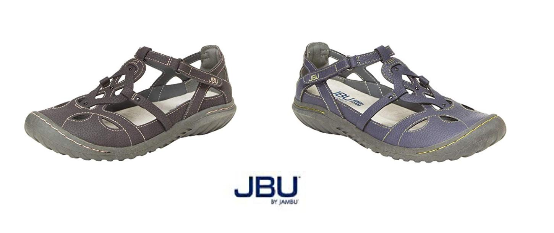 JBU BY JAMBU LADIES' SYDNEY FLAT SANDALS - VARIETY