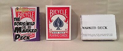 The Boris Wild Marked Deck (Red Rider Back Bicycle) Retails $25.00