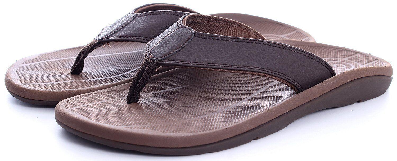 Comforthotics® Men's Pat Comfort Summer Flip Flop Sandal Or