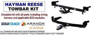Hayman Reese Tow Bar Kit (1200kgs) Suzuki SX4 S-Cross (12/13 on)
