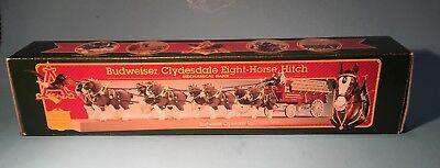 Budweiser Clydesdale Eight Horse Hitch Mechanical Bank, Ertl Collectibles, 1995